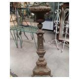 Antique metal fern stand