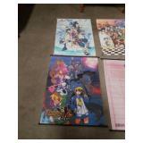 Bundle of 4 anime banners