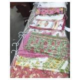 Bundle of 10 tablecloths, materials