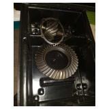 Case of rear end gears
