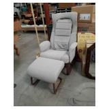 Massage chair and ottoman