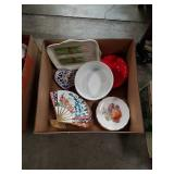 Box of snack plates