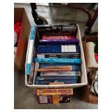 Box of music books