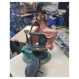 Metal sculpture as is