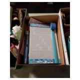 Box of paper cutter and gift bags
