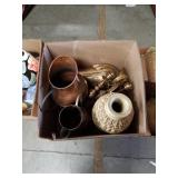 Box of vases and pitchers