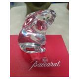 Baccarat crystal rabbit