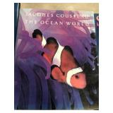 The ocean world by Jacques Cousteau book