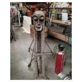 Tall African carving