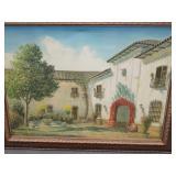 "Alberto Lobos oil painting /27""×39""approx"