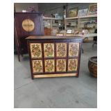 Floral cabinet