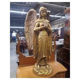 Fiberglass angel figurine