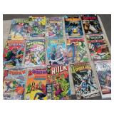 Box of vintage comic books/60 cnts,40 cents,15