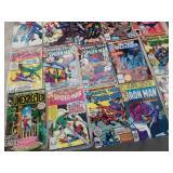 Box of 15 vintage comic books/ 60 cents, 40 c