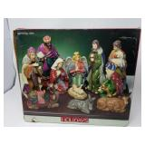 Nativity set / Home for the holidays