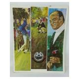 Arnold Palmer signed magazine in bag