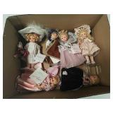 Box of madame Alexander doll