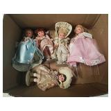 Box of madame Alexander dolls