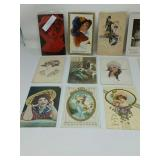 Victorian women and children post cards 50pcs