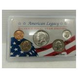 American Legacy Silver coin set