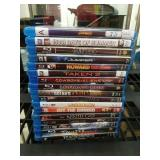 Box of 17 Blu-ray Movies including Avengers