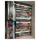 Box of 34 DVD movies