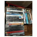 Box of 27 DVD movies!