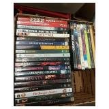Box of 27 DVD movies