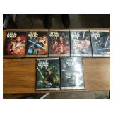 Original 6 Star Wars movies DVD plus bonus