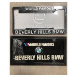 Bundle of license plate frames