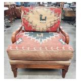 Vintage southwestern lounge chair