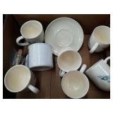 Box of cups and a plate