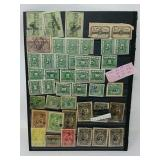 US post office stamp collection years 1800s,1934