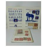 US Stamp collection years 1927, 29, 30, 31-