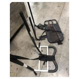 Bundle of wheel chair racks