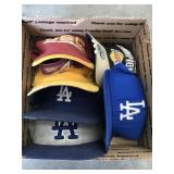 Box of LA hats