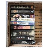 Box of VHS