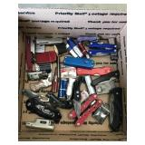 Box of Lighters and Knives