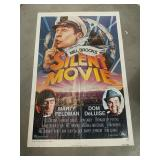 Original studio sized SILENT MOVIE poster Mel