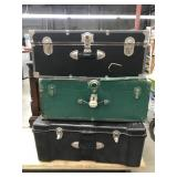 Lot of Three Trunks