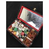 Box of assorted Dice