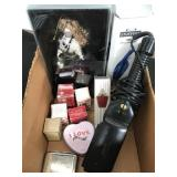Box of music perfumes ect