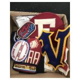 Box of Vintage Patches