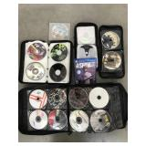 Box of CDs- Video Games