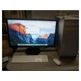 "Apple Mac Pro 3,1 with 27"" monitor"