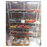 approx. 30 pcs. of vintage trains and engines