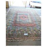 handmade persian carpet. approx. 10