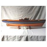 """53"""" wood sailboat. as-is"""