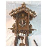 german black forest cuckoo clock w/wgts.