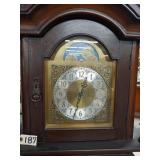"""vintage grandfather clock. approx. 98"""" not tested"""